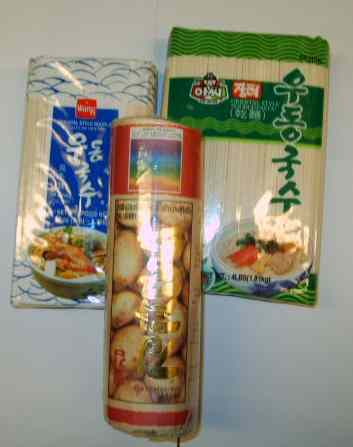 variety of noodles
